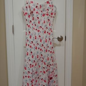 Ann Taylor size 12 dress NWT fully lined floral